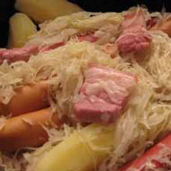 Sauerkraut and Strasbourg Sausages Recipe