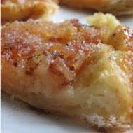 Pasteles de manzana y canela