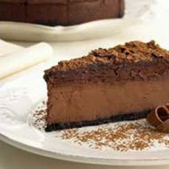 Torta mousse de chocolate y toffee