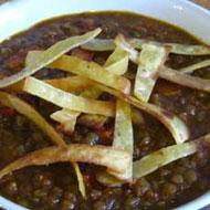 Recette de Lentilles à l'indienne