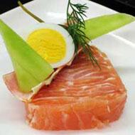 Рецепт Террин с копченым лососем и лимоном